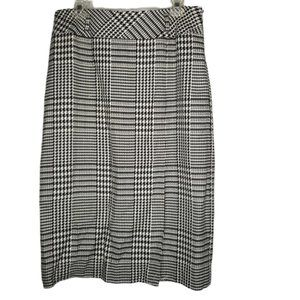 Evan Picone Vintage Line Career plaid PENCIL Skirt